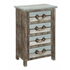 "Four Drawer Chest H31.50"", Islander Multicolor"