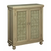 "Two Door Cabinet H41.50"", Olympia Gold"