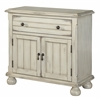 "Two Door One Drawer Cabinet H28.50"", Chipley Distressed Sand"