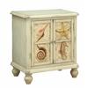 "Two Door Cabinet H24.50"", Shoals Distressed Sand"