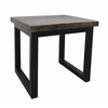 "Cumberland End Table H24.00"", Cumberland Distressed Brown"