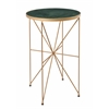 """Accent Table H24.00"""", Hadin Powder Gold"""