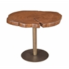 "Timber Accent Table H22.00"", Linkwood Brown"