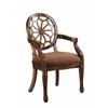 "Accent Chair H38.50"", Warm Brown"