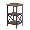 "Accent Table H30.50"", Domingo Natural Brown"