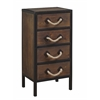 "Four Drawer Chest H31.50"", Domingo Natural Brown"