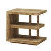 """E Chairside Table H25.00"""", Timberwood Natural"""