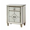 "One Drawer Two Door Cabinet H30.00"", Cadence Metallic"