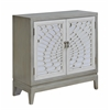 """Two Door Cabinet H32.00"""", Cape May Grey and Cream"""