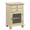 "Two Drawer One Door Cabinet H30.50"", Sabre Ivory"