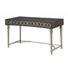 "Three Drawer Writing Desk H31.00"", Avalon Grey"