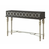 "Three Drawer Console Table H37.50"", Avalon Grey"