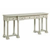 "Five Drawer Console Desk H31.00"", Glenville Ivory"