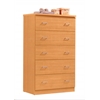 JUMBO CHEST OF DRAWER -  BEECH H58.4""