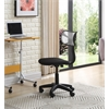 ARMLESS MESH BACK TASK CHAIR - GREY H30-35""