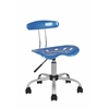 ABS ARMLESS TASK CHAIR - BLUE H26-29""