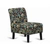 ARMLESS ACCENT CHAIR - FALL H35""