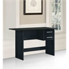 WRITING TABLE BLACK - BLACK H29.5""