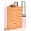 7 DRAWER CHEST - BEECH H48""
