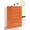 7 DRAWER CHEST - CHERRY H48""