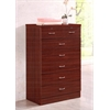 7 DRAWER CHEST - MAHOGANY H48""