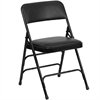 FOLDING CHAIR - BLACK (6PCS/CTN) H31""