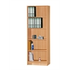 5 SHELF BOOKCASE - BEECH H71.6""