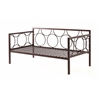 METAL DAY BED - BRONZE H38""