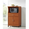 MICROWAVE CART - CHERRY H45.4""