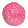 Junior Print Bean Bag Pink Flower