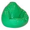 Wetlook Vinyl Large Pure Bead Bean Bag Green