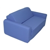 "Juvenile Poly Cotton Sofa Sleeper - Twin 36"" Royal Blue"