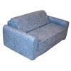 "Juvenile Poly Cotton Sofa Sleeper - Twin 36"" Distressed Denim"