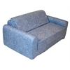"Juvenile Poly Cotton Sofa Sleeper - Twin 36"" Distressed Denim"
