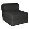 "Juvenile Poly Cotton Studio Chair Sleeper - Jr. Twin 24"" Black"