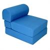 "Juvenile Poly Cotton Studio Chair Sleeper - Jr. Twin 24"" Royal Blue"