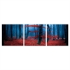 SeniA Wall Mounted Triptych Photography Prints, Enchanted Forest, Set of Three