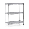 Wayar 3-Tier Heavy Duty Wire Shelving Chrome,