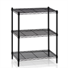 Wayar 3-Tier Heavy Duty Wire Shelving Black,