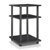 Turn-N-Tube Easy Assembly Multipurpose Shelf, Blackwood