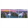 SENIC Niagara Falls 3-Panel Canvas on Wood Frame, 60 x 20-in