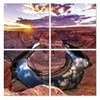 Seni HorseShoe Bend 4-Panel MDF Framed Photography Triptych Print, 48 x 48-in