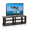 THE Entertainment Center TV Stand, Dark Brown