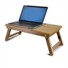 Bamboo AdJustable Notebook Lapdesk, Natural