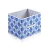 Laci  Dot Design Non-Woven Fabric Soft Storage Organizer, Blue