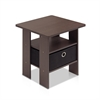 End Table Bedroom Night stand w/Bin Drawer