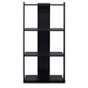 Hidup Tropika Tall Ladder Shelf, Espresso