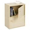 Pasir 2 Tier Bookcase w/2 Door/Round Handle, Steam Beech