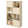 Pasir 4-Tier Shelf w/4 Door/Round Handle, Steam Beech
