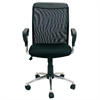 Hidup Screen Back Mesh Seat Office Chair, Black